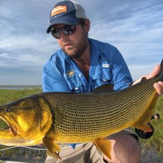 Fly fishing for Golden Dorado - Felipe Morales - Pira Lodge