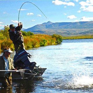Tikchik Lodge - Fly fishing