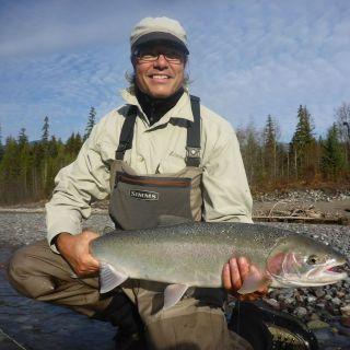 Fly fishing - Deep Creek Lodge