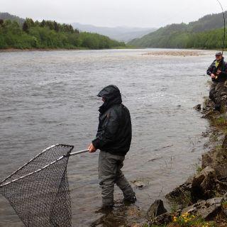 Gaula Flyfishing Lodge Beat 5 - Evjen pool