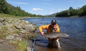 Gaula River, Hovin, Norway