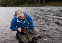 Scotia  Fishing  's Fly-fishing Image of a fall salmon – Fly dreamers