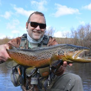 A large fall brown from The Beaverhead River!