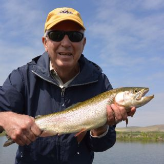 "Trout on the hog pond average 22"" - 24"" with larger fish caught regularly!"