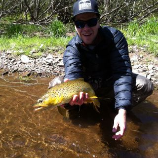 Clients first Brown Trout