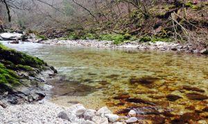 Kamniška Bistrica River, Kamnik, Slovenia