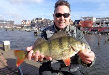 Gerben Heijdt 's Fly-fishing Catchof a Perch– Fly dreamers