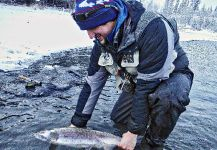 Luke Metherell 's Fly-fishing Photoof a Coho salmon– Fly dreamers