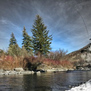 Springtime Solitude on the Eagle River
