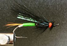 Terry Landry 's Fly-tyingfor fall salmon -Picture – Fly dreamers