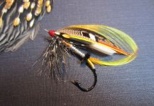 Fly-tying for salmon atlantico - Picture by Len Handler