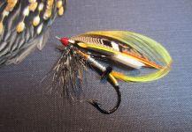 Fly-tyingfor salmon atlantico -Picture by Len Handler