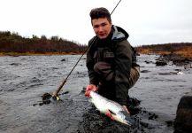 Vasil Bykau 's Fly-fishing Catchof a Slink– Fly dreamers