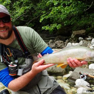 Fly fishing in Slovenia @ Urko Fishing Adventures