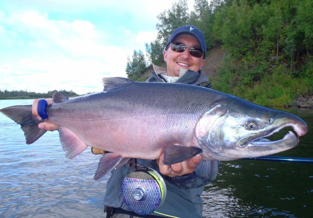 Alaska trophy adventures lodge fly fishing lodge fly for King salmon fishing alaska