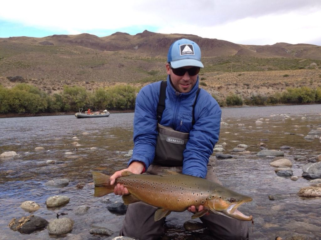 Lucas amestoy fly fishing guide fly dreamers directory for Fly fishing guides near me