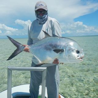 The flats in Eastend Grand Bahama is a permit hotspots that not to many people know.