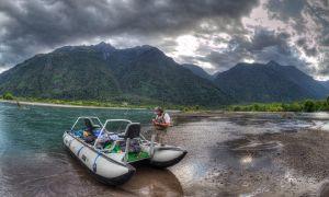 Río Futaleufú / lago y río Yelcho / Río Palena / Lago Espolón / Lago Las Rosas / Lago Noroeste / Río Malito / Río Petrohué / Río Maullin / Río Puelo / varias lagunas., Futaleufú / Palena / Puerto Varas, Región de los Lagos, Chile