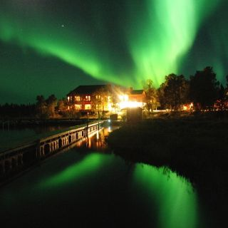 Northern light viewing in August