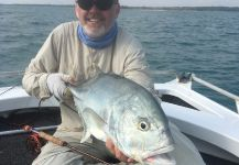Trevally - Brassy On the Fly in darwin Harbour - Fly dreamers