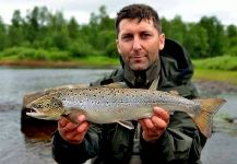 Rafal Slowikowski 's Fly-fishing Imageof a spring salmon– Fly dreamers