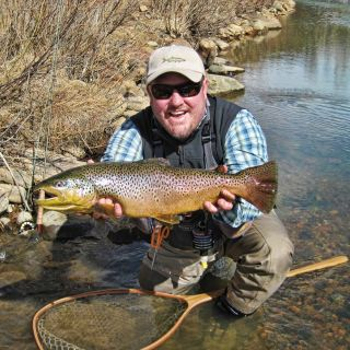 Brown Trout from Boxwood Gulch Ranch