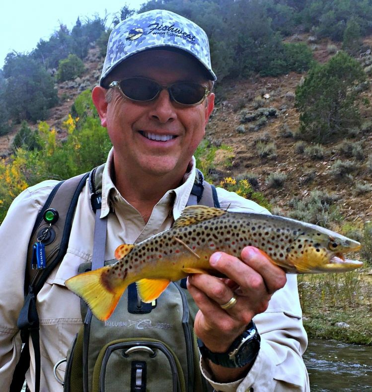 Fly fishing photo of salmo trutta shared by mark greer for Northern utah fishing report