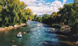Animas River, Durango, Colorado, United States