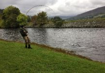 Grilse Fly-fishing Situation – Tomas Kolesinskas shared this Image in Fly dreamers