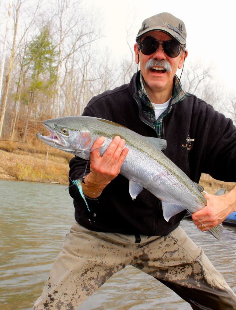 Fish lake run outfitters fly fishing guide fly for Cattaraugus creek fishing report