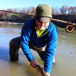 Cattaraugus Creek New York spey fishing