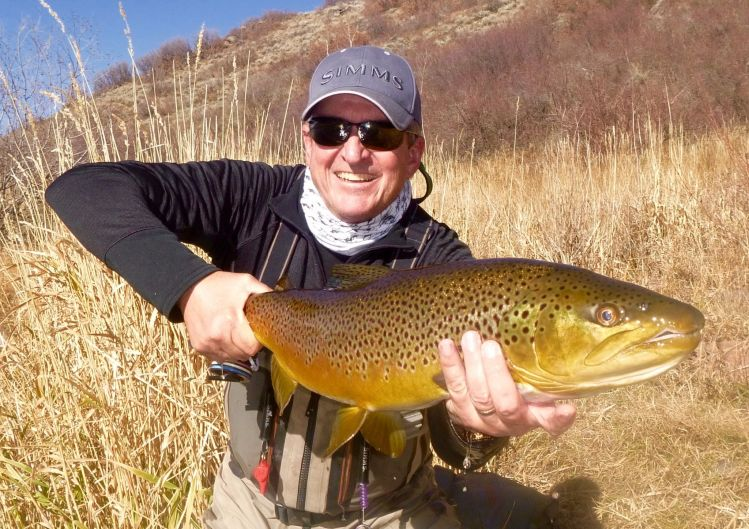 Scott marr 39 s fly fishing image of a german brown fly for Yampa river fishing report
