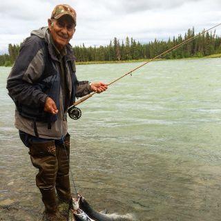 Kenai River fishing for Sockeye Salmon