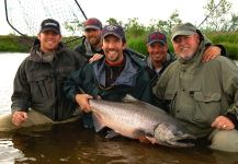 Bristol Bay Lodge Lodge 's Fly-fishing Imageof a Columbia River salmon| Fly dreamers