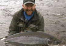 Brett OConnor 's Fly-fishing Picof a Parr| Fly dreamers