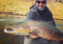 Brett OConnor 's Fly-fishing Pictureof a Grilse| Fly dreamers