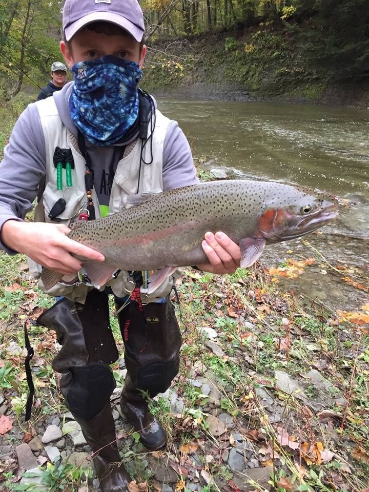Keystone anglers guide service fly fishing outfitter for Keystone lake fishing report