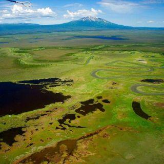Tikchik Aereal view