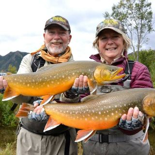 Tikchik Lodge - Fly fishing for Chars