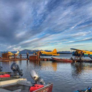 Tikchik Lodge Dock