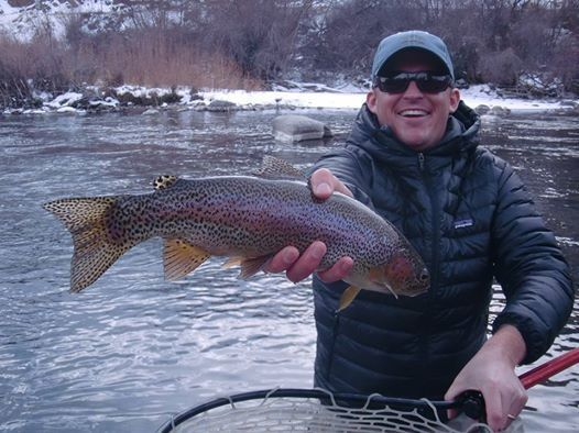Top fly patterns for winter trout in colorado articles for Best trout fishing in colorado
