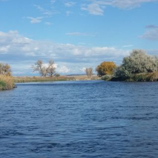 Bighorn River, Thermopolis, Wyoming
