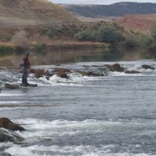 Big Horn River, Wyoming