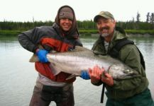 Corey Hetrick 's Fly-fishing Catchof a Tee Salmon| Fly dreamers