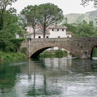 A real chalk stream in the center of Italy
