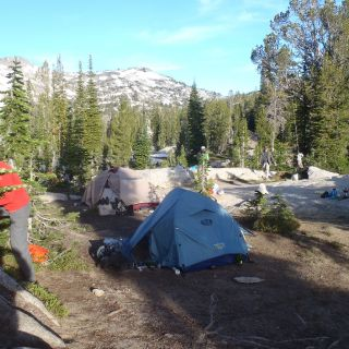 Backpack in Tenting and Fly Fishing