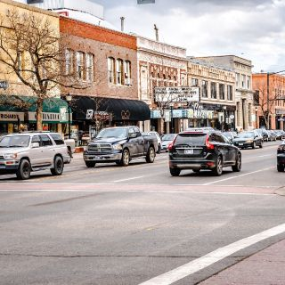 Charming downtown Bozeman is just 2.5 blocks from the lodge.