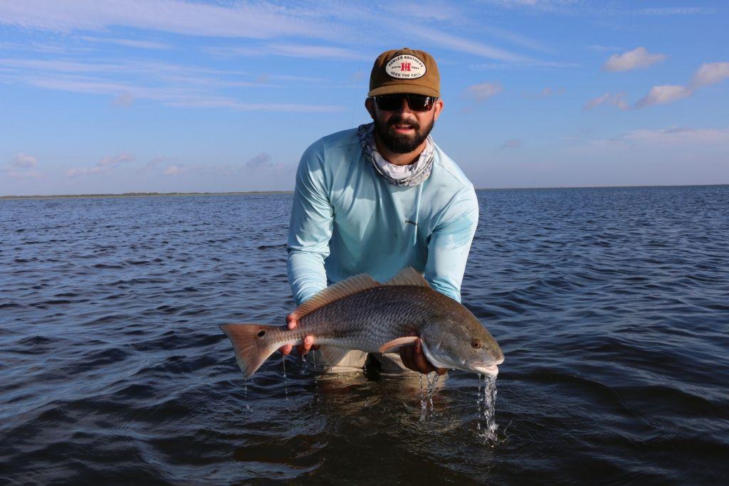 Capt mason matejcek fly fishing guide fly dreamers for Port o connor fishing