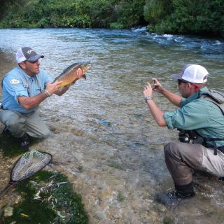 Services of a fly fishing guide
