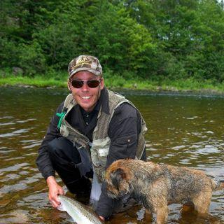 Cheticamp River Salmon 2010